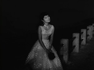 Mie Kitahara in Crazed Fruit 1956 night